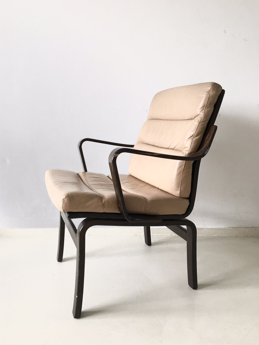 Vintage Swedish Bentwood Chair From G Möbel