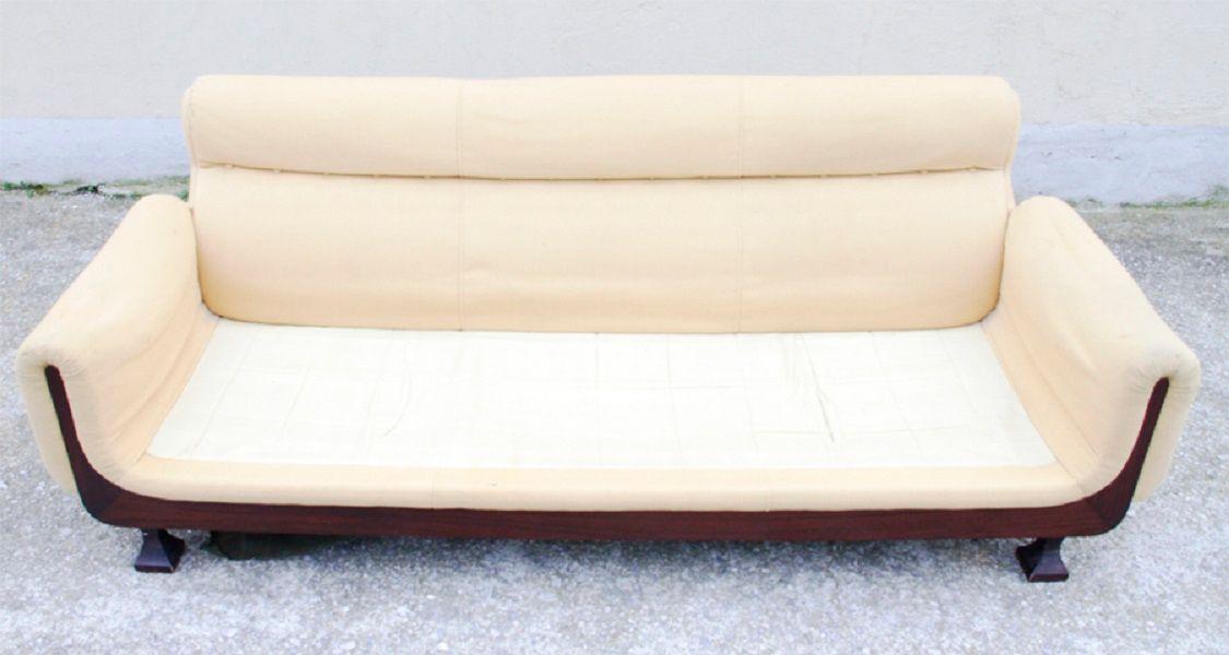 italienisches 3 sitzer sofa 1970er bei pamono kaufen. Black Bedroom Furniture Sets. Home Design Ideas