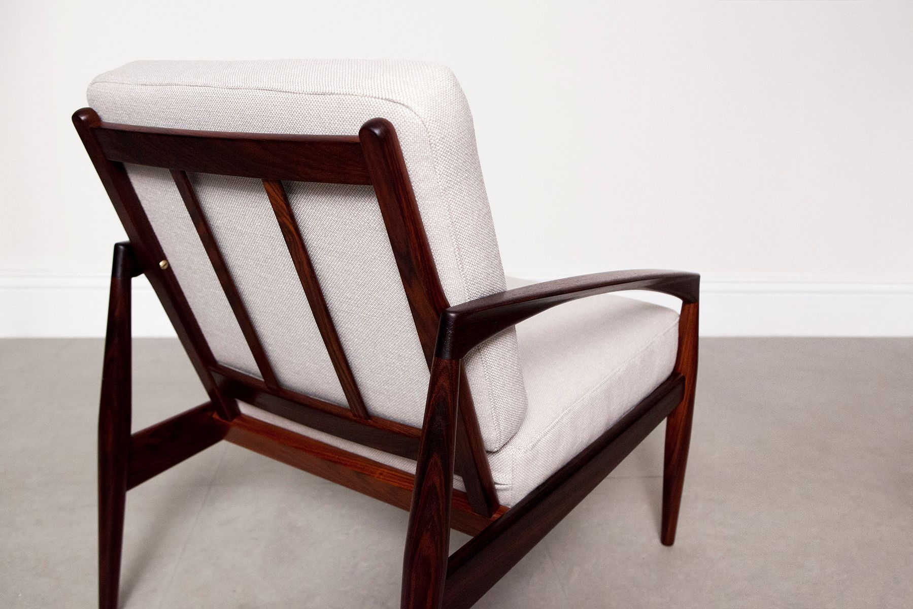 Rosewood paper knife chair by kai kristiansen for magnus olesen 1960s for sale at pamono - Kai kristiansen chair ...