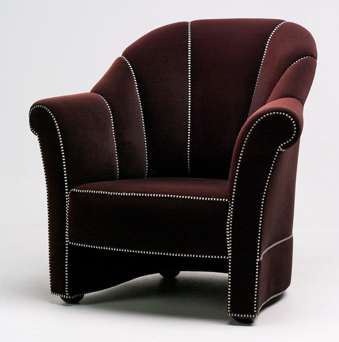 sesel von josef hoffmann f r wittmann 1980 bei pamono kaufen. Black Bedroom Furniture Sets. Home Design Ideas