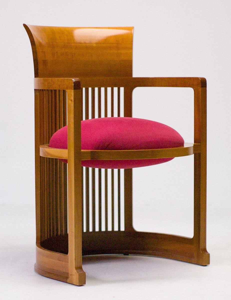 cassina taliesin esstisch und frank lloyd wright st hle 5er set bei pamono kaufen. Black Bedroom Furniture Sets. Home Design Ideas