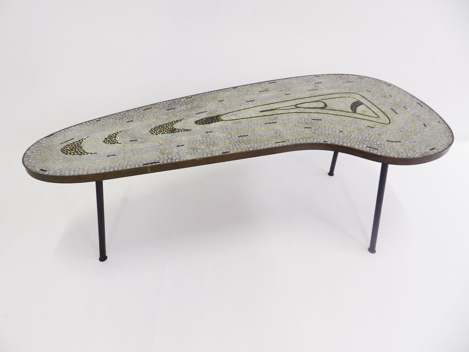 Boomerang Coffee Table Swiss Mosaic Boomerang Coffee Table For Sale At Pamono