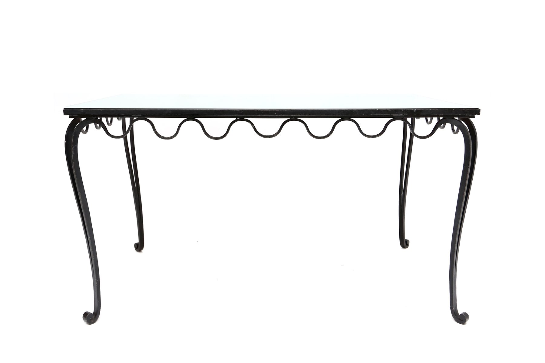Wrought Iron Desk or Dining Table 1930s for sale at Pamono : wrought iron desk or dining table 1930s 2 from www.pamono.co.uk size 1800 x 1200 jpeg 51kB