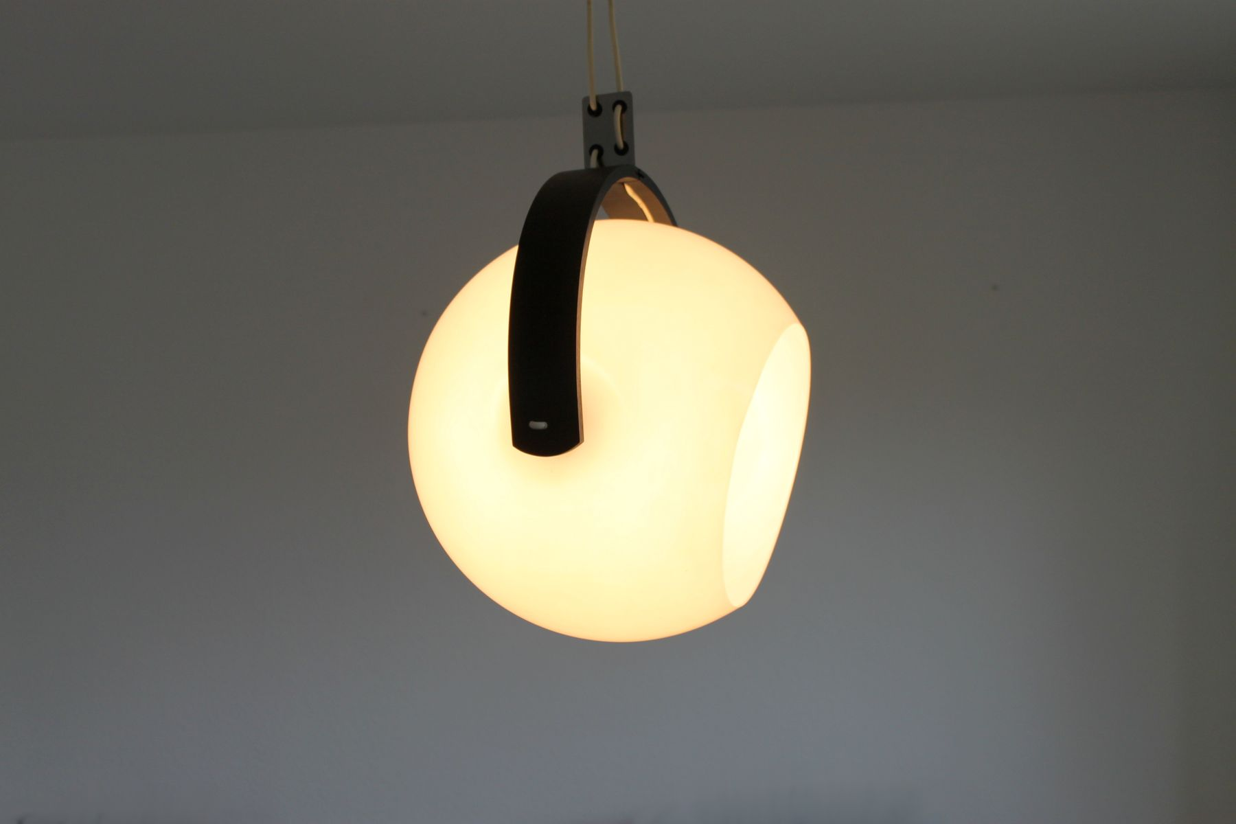 vintage space age pendant lamp from temde for sale at pamono. Black Bedroom Furniture Sets. Home Design Ideas