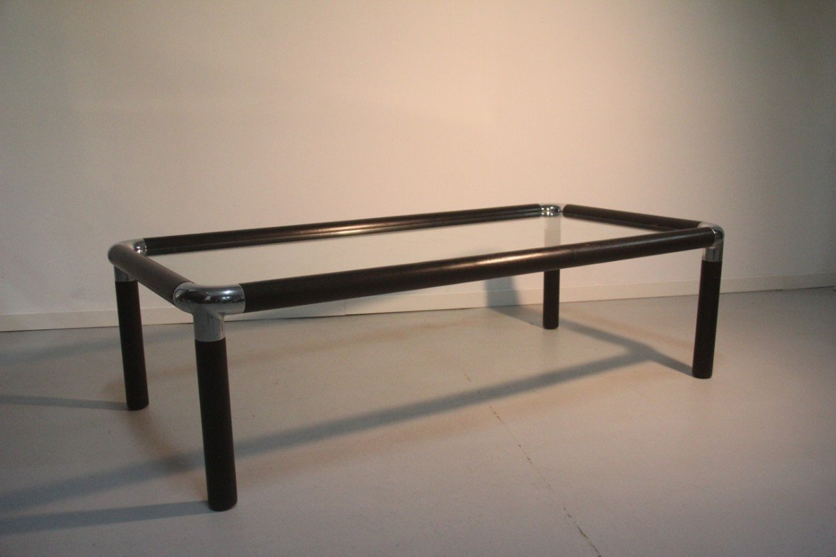 Minimalist Coffee Table By Giovanni Offredi For Saporiti