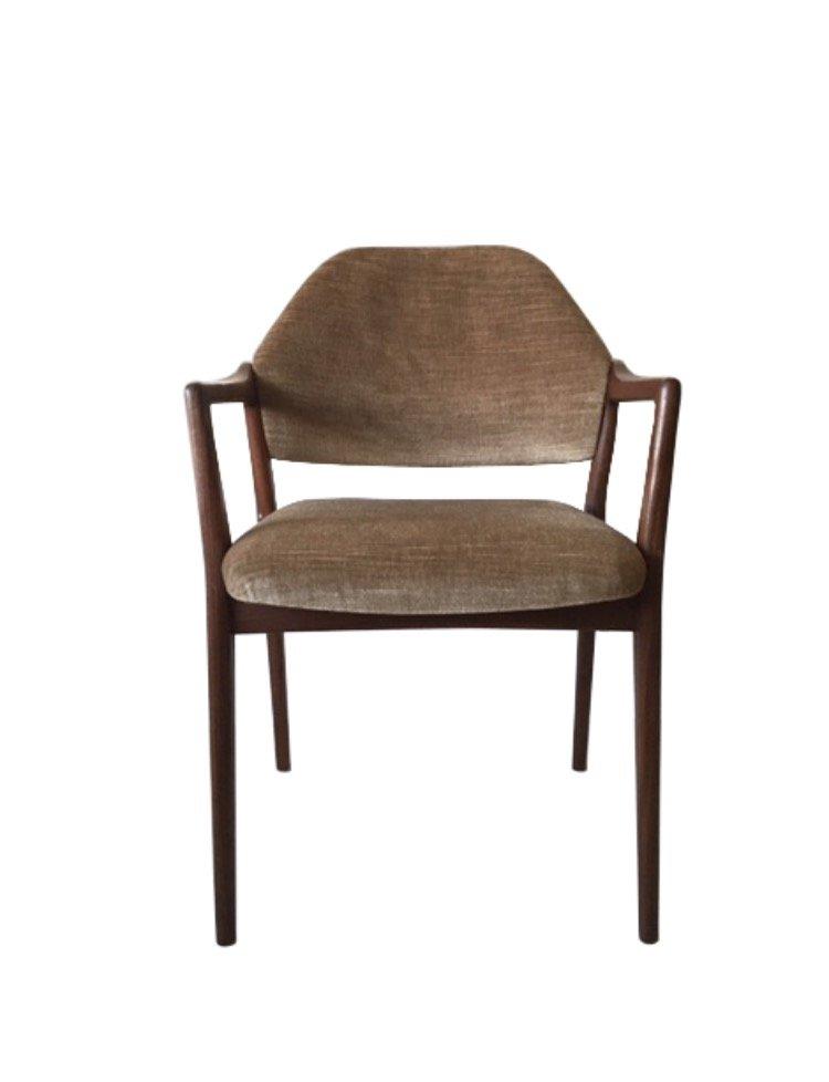 teak armlehnstuhl von wilkhahn 1950er bei pamono kaufen. Black Bedroom Furniture Sets. Home Design Ideas