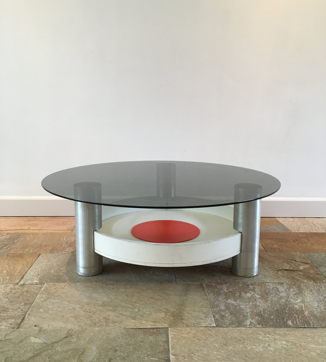 Vintage Industrial Space Age Coffee Table For Sale At Pamono