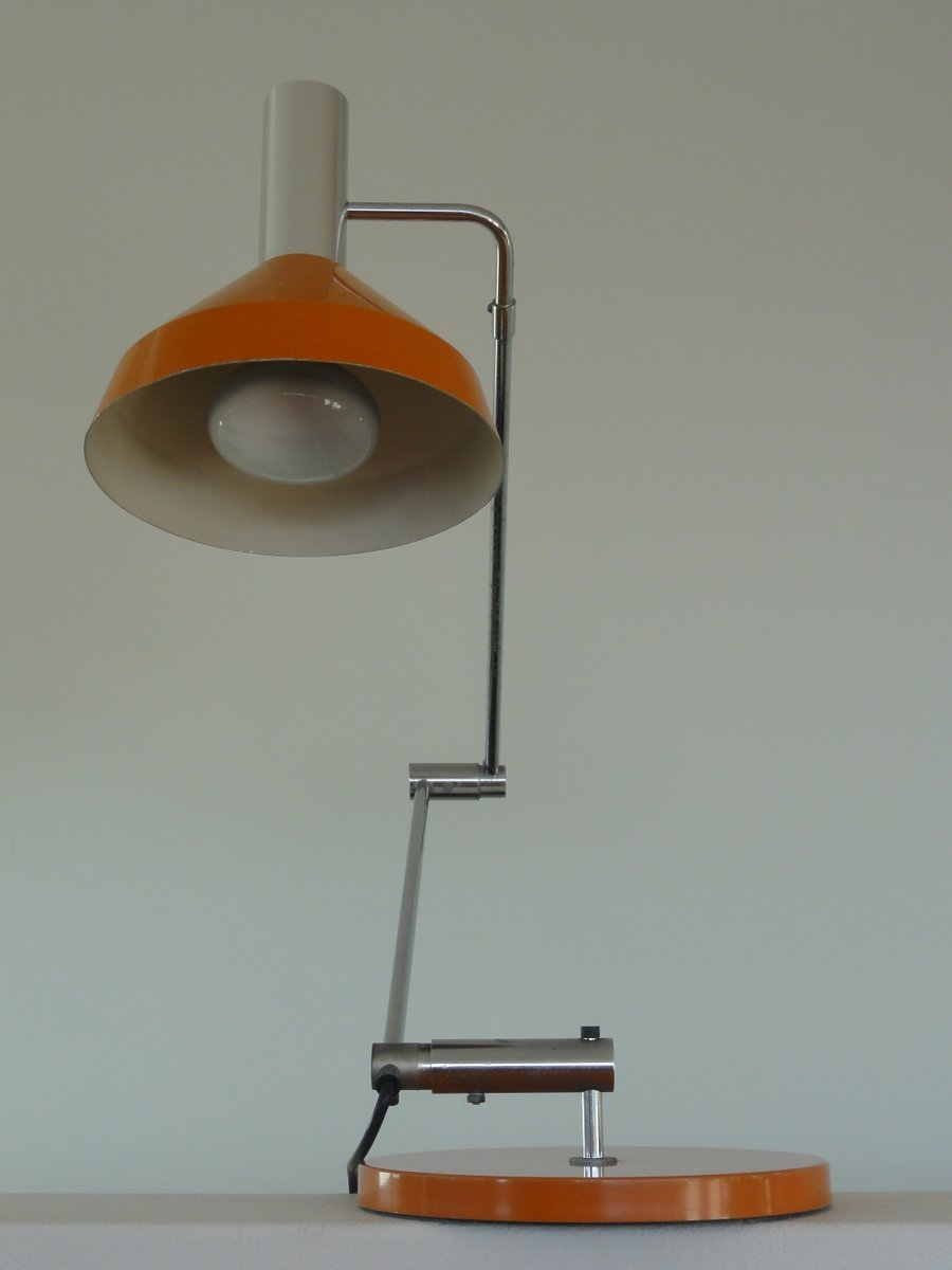 Orange type 60 t desk lamp by rico rosemarie baltensweiler 1960 orange type 60 t desk lamp by rico rosemarie baltensweiler 1960 geotapseo Image collections