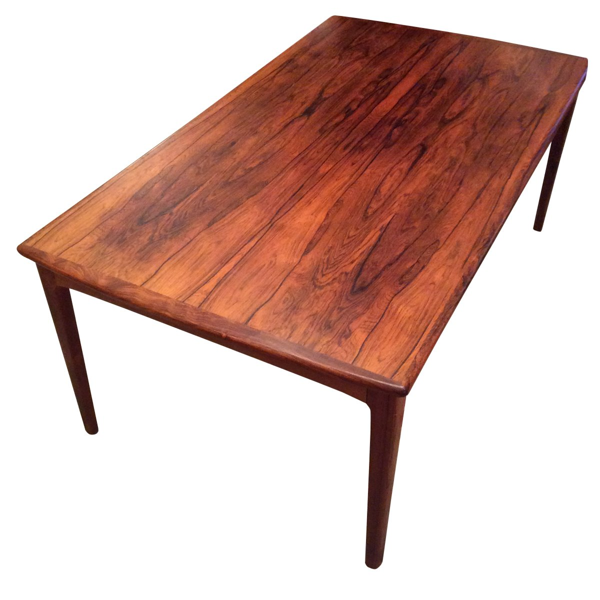 Danish Mid-Century Rosewood Coffee Table For Sale At Pamono
