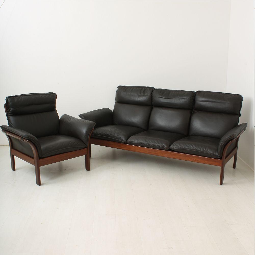 Scandinavian Teak Sofa Set 1960s For Sale At Pamono