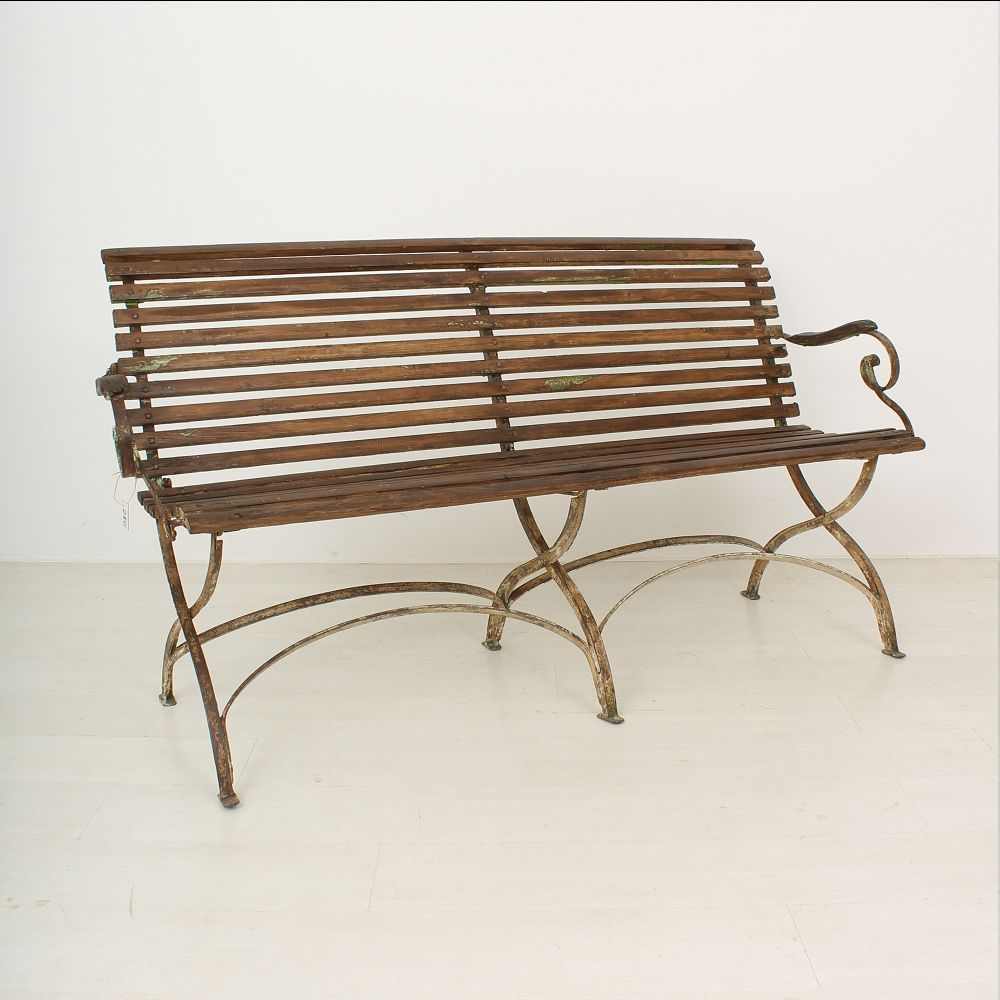 Garden bench 1900s for sale at pamono for Garden design 1900