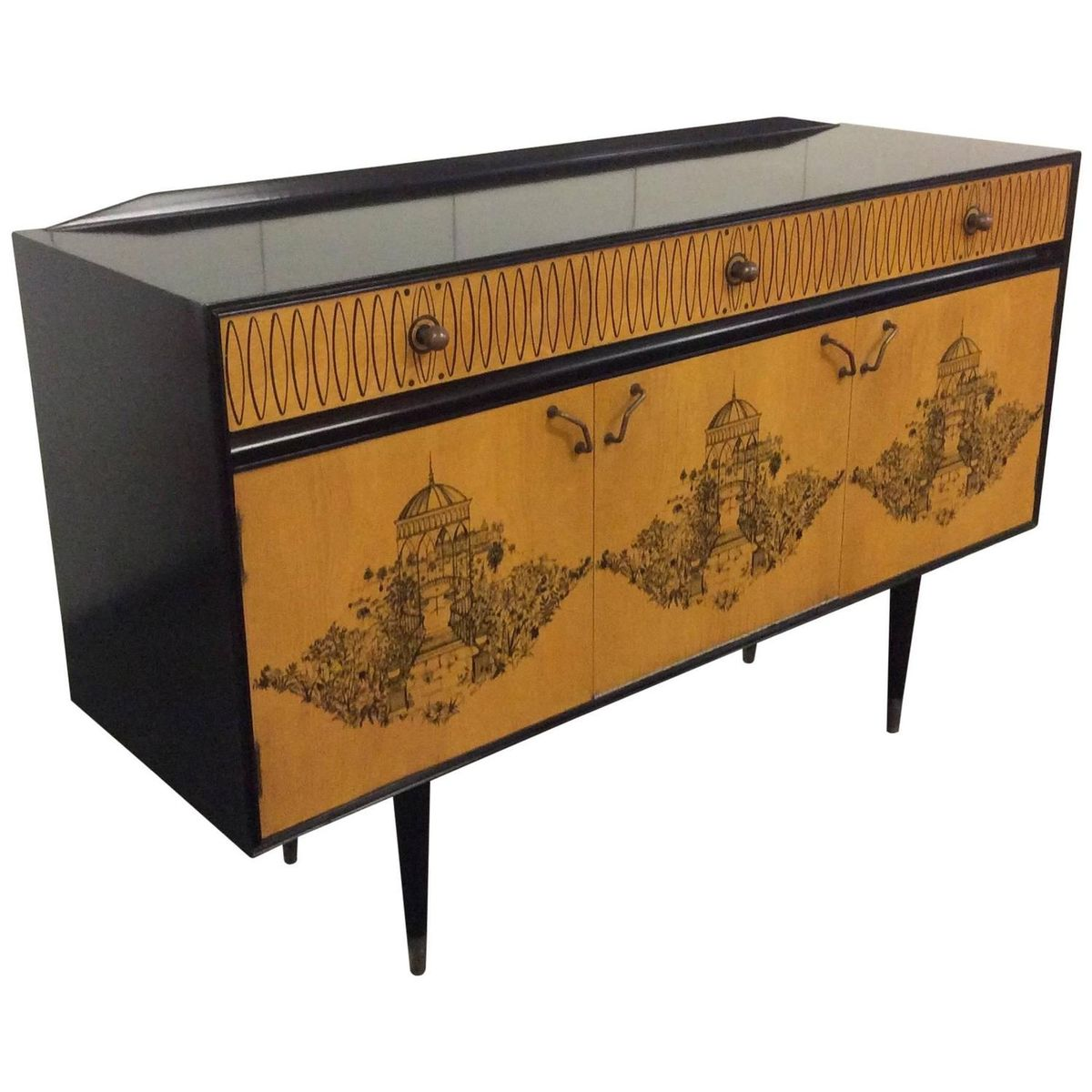 Midcentury credenza by robert heritage 1950 for sale at for 1950 s credenza