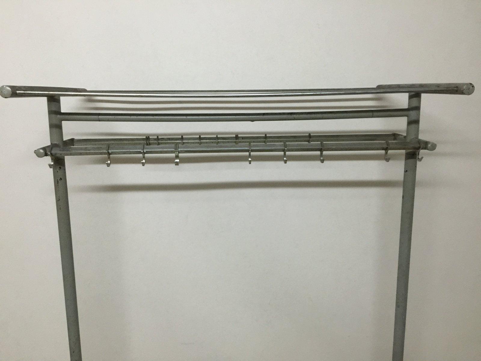 Industrial Iron Coat Rack
