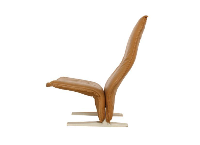 chaise longue concorde par pierre paulin pour artifort en vente sur pamono. Black Bedroom Furniture Sets. Home Design Ideas