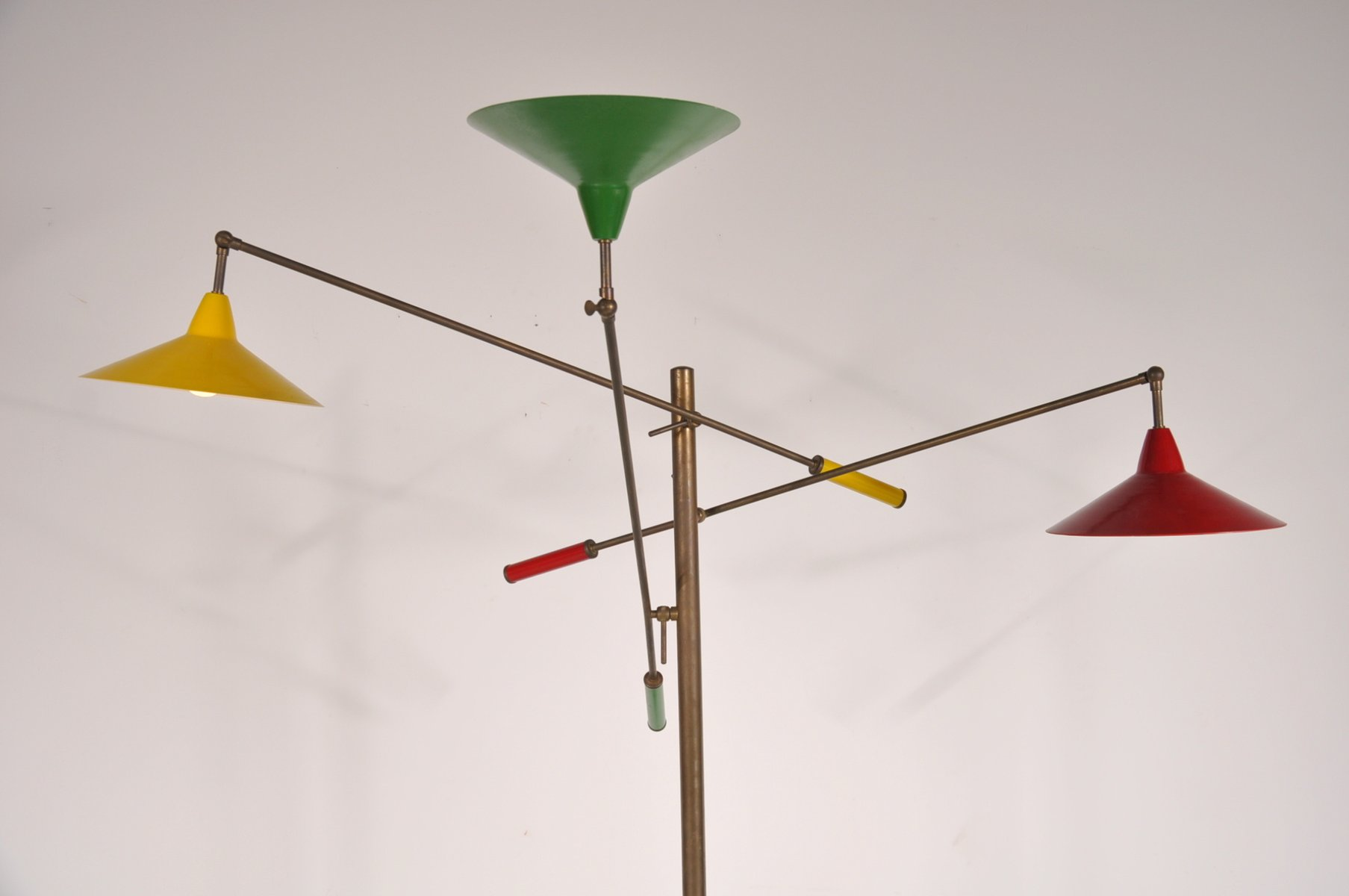 Triennale floor lamp from arredoluce 1950s for sale at pamono for Arredo luce