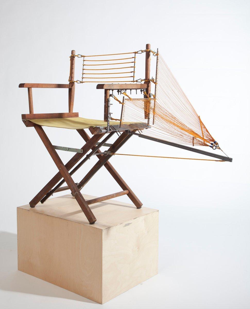 Repaired Directoru0027s Chair By Paulo Goldstein Studio