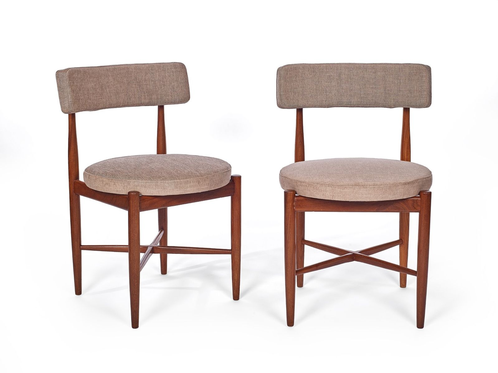 Teak dining chairs from g plan set of 2 for sale at pamono for G plan teak dining room chairs