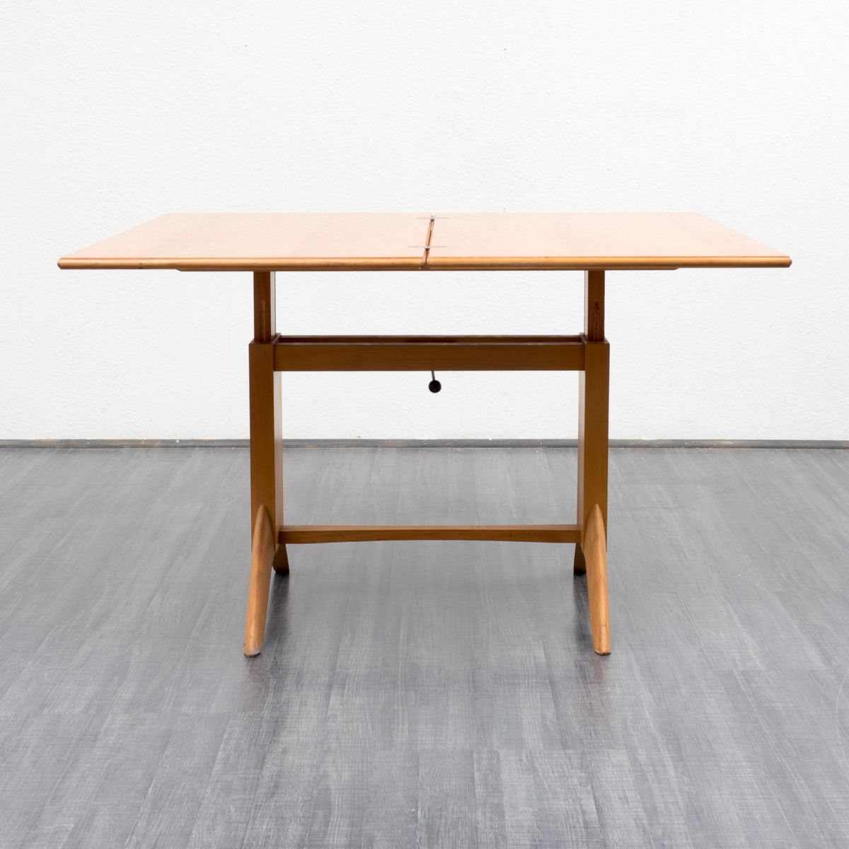 Cherry Coffee Or Dining Table From Wilhelm Renz 1950s For