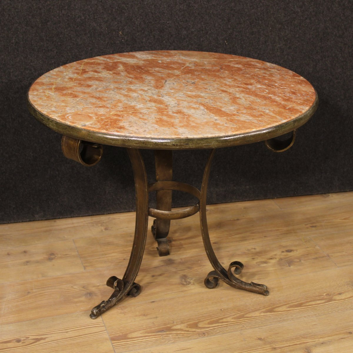 Italian Art Deco Marble Coffee Table