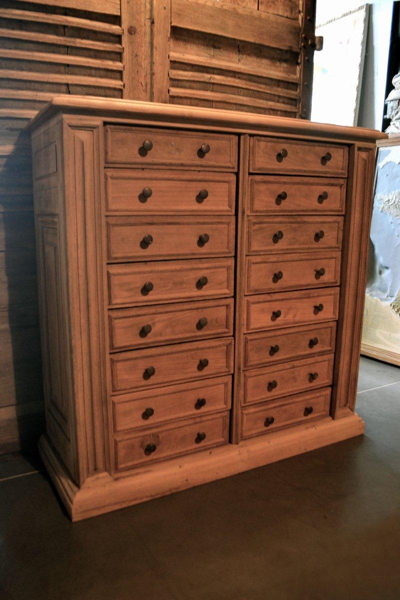 gro e franz sische kommode aus eichenholz mit marmorplatte bei pamono kaufen. Black Bedroom Furniture Sets. Home Design Ideas