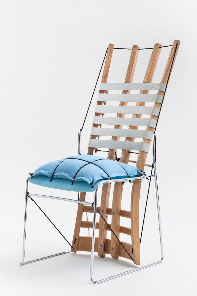 Cadeira Azul Chair From Paulo Goldstein Studio