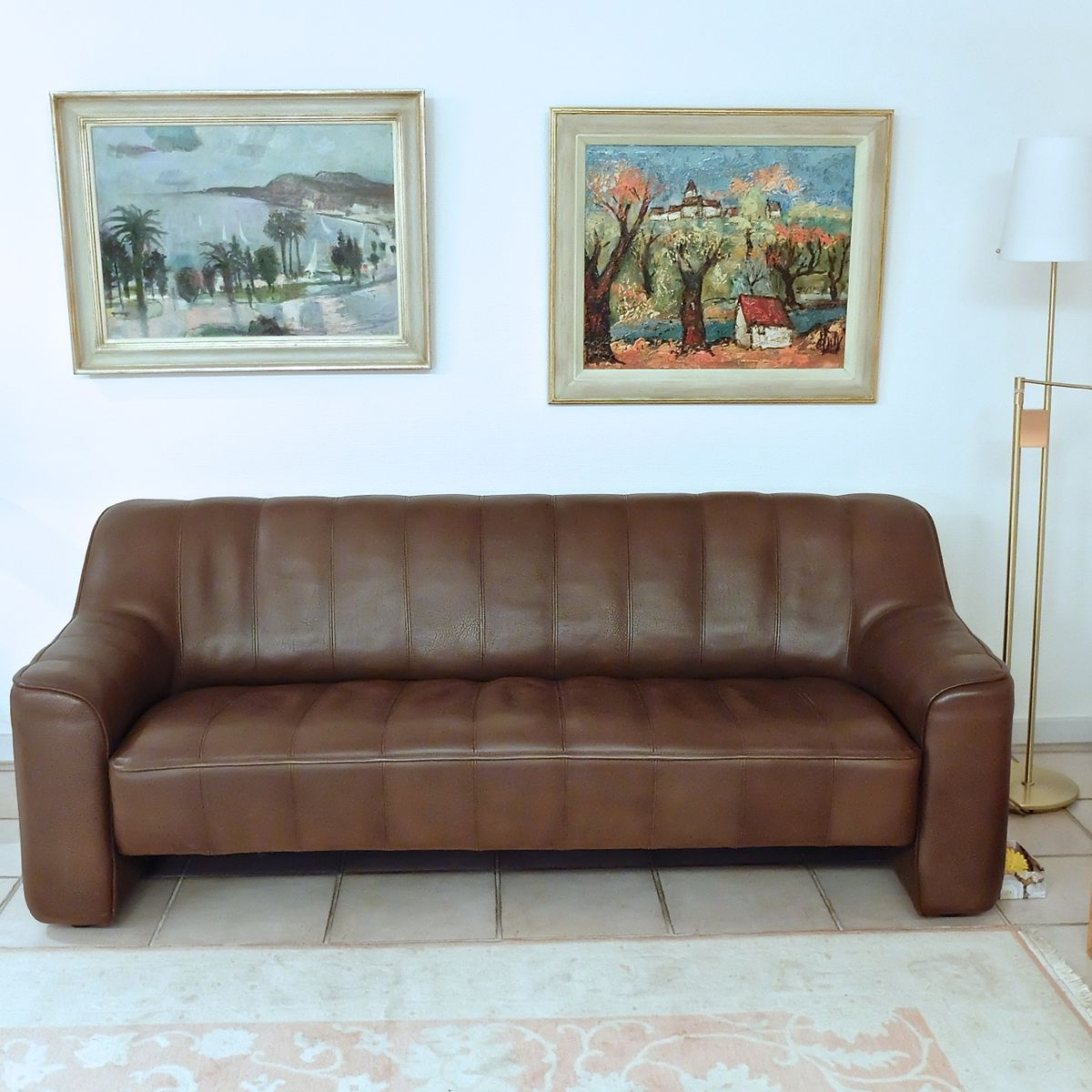 vintage ds 44 3 seater sofa from de sede for sale at pamono. Black Bedroom Furniture Sets. Home Design Ideas