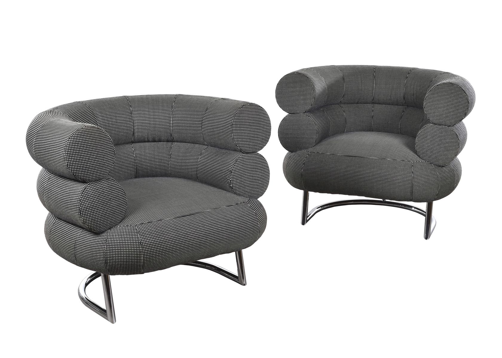 bibendum club chair by eileen gray for classicon for sale at pamono. Black Bedroom Furniture Sets. Home Design Ideas