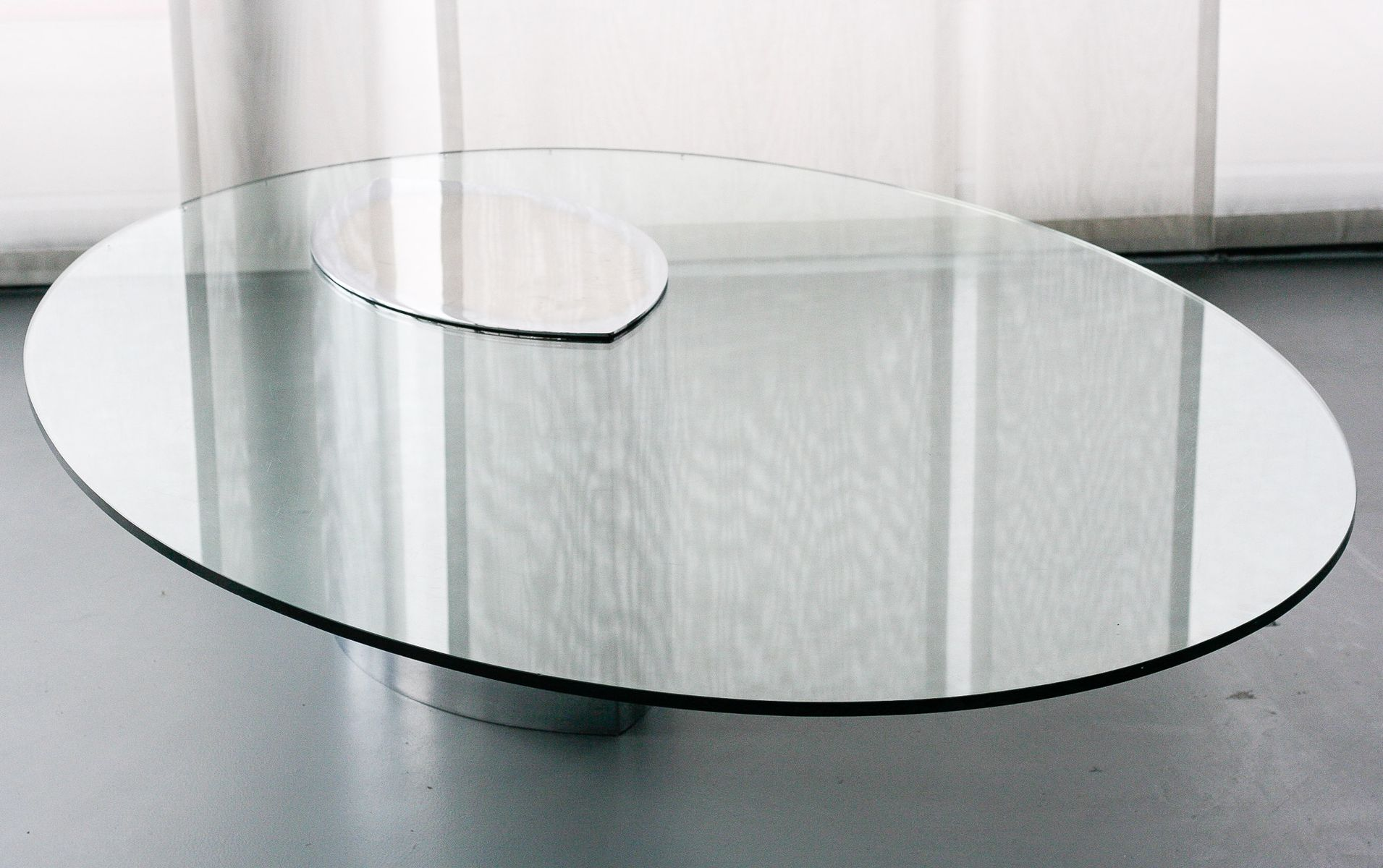 Lunario Coffee Table by Cini Boeri for Gavina 1972 for sale at Pamono