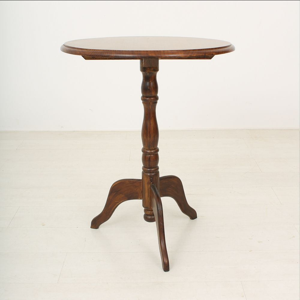 Antique cherrywood side table for sale at pamono