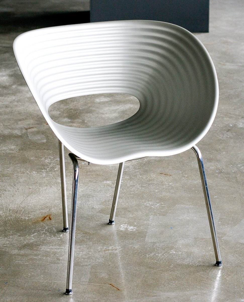 chaise tom vac edition limit e en aluminium par ron arad en vente sur pamono. Black Bedroom Furniture Sets. Home Design Ideas