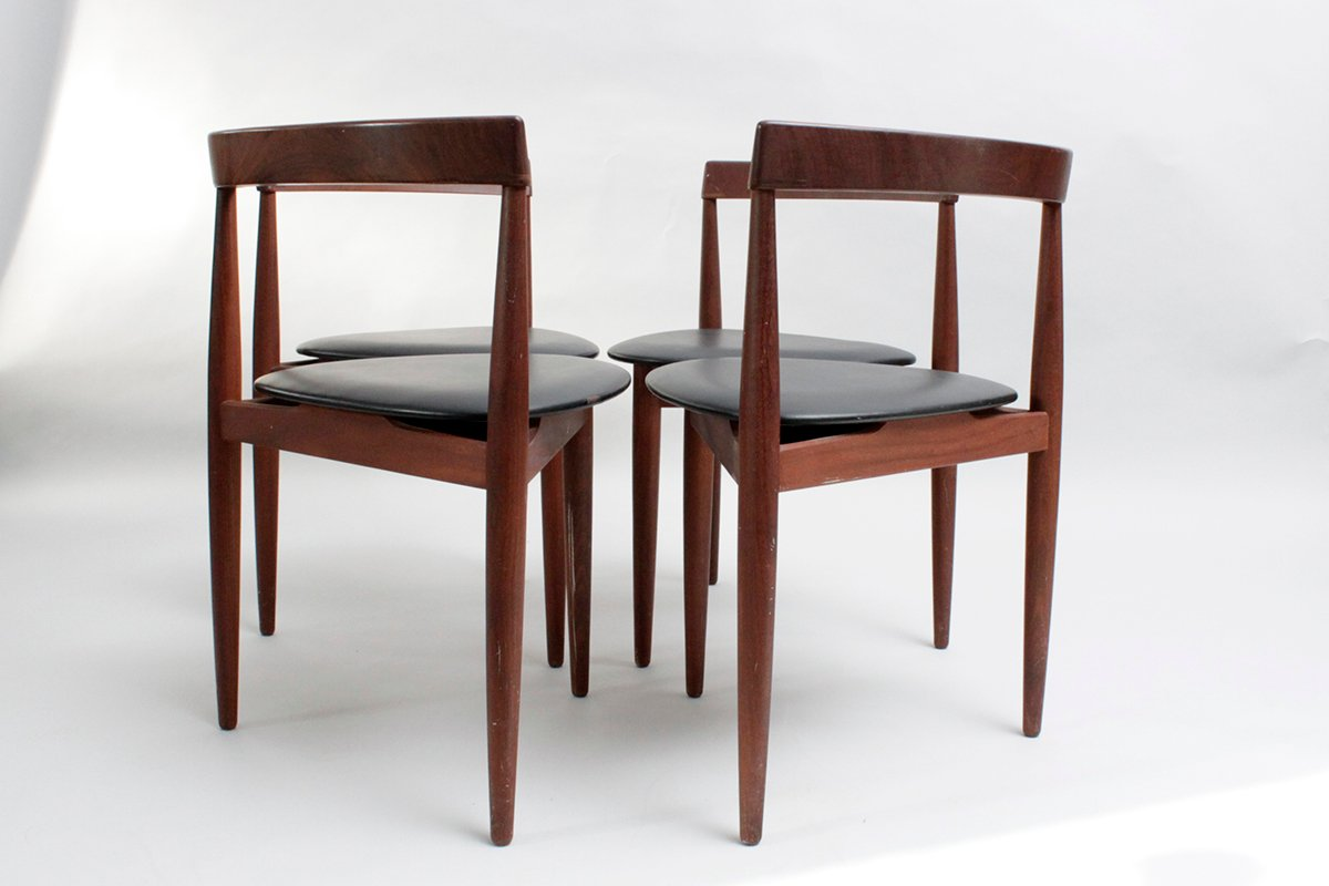 Danish Teak Dining Chairs By Hans Olsen For R Jle Set Of