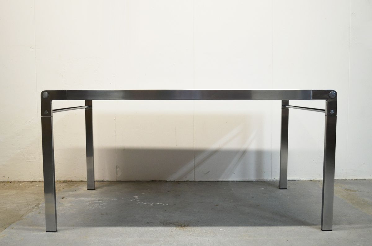 steel frame table by claire bataille  paul ibens for 't spectrum  - steel frame table by claire bataille  paul ibens for 't spectrum