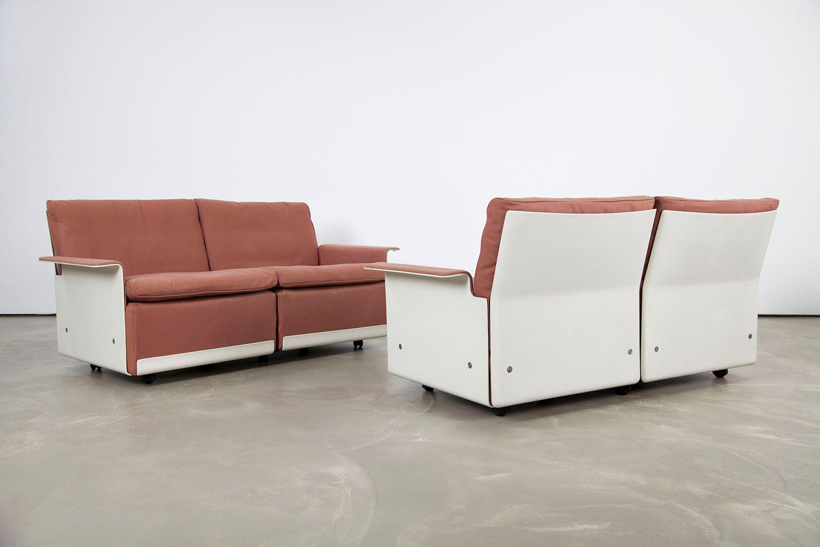canap deux places mod le rz 620 mid century par dieter. Black Bedroom Furniture Sets. Home Design Ideas