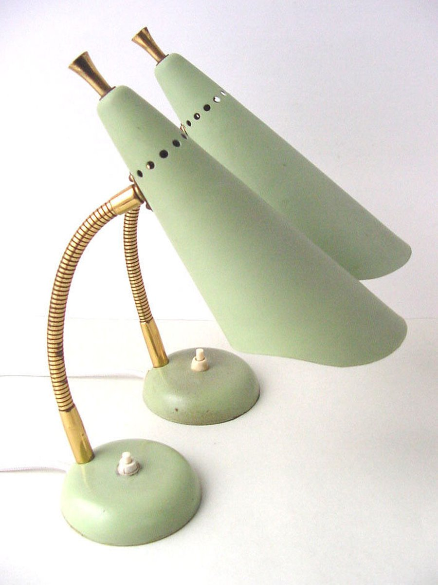 Mid century gooseneck table lamp for sale at pamono for Z gallerie century table lamp
