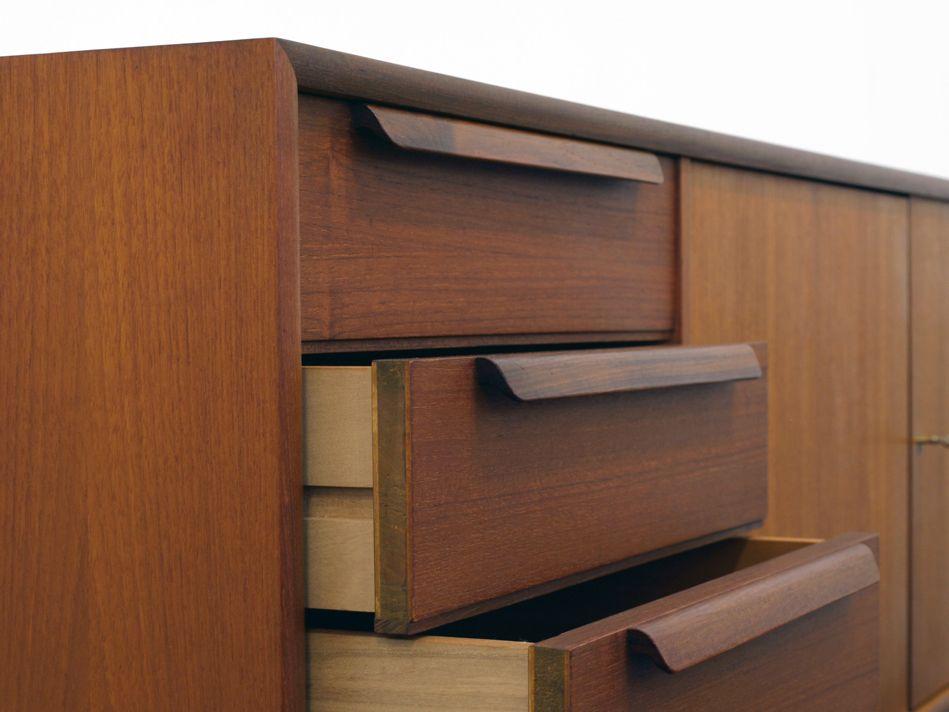 vintage teak sideboard von wk m bel bei pamono kaufen. Black Bedroom Furniture Sets. Home Design Ideas