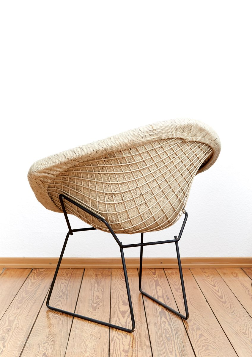 421 diamond chair by harry bertoia for knoll international. Black Bedroom Furniture Sets. Home Design Ideas