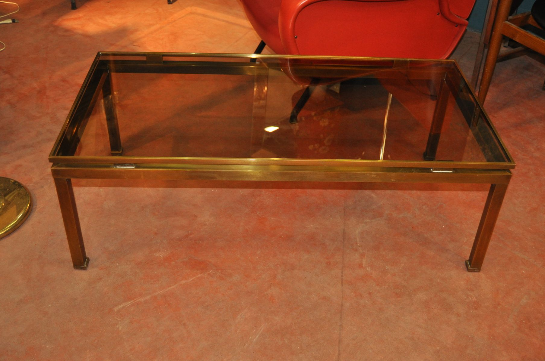 Jansen Coffee Table Coffee Table By Guy Lefevre For Maison Jansen For Sale At Pamono
