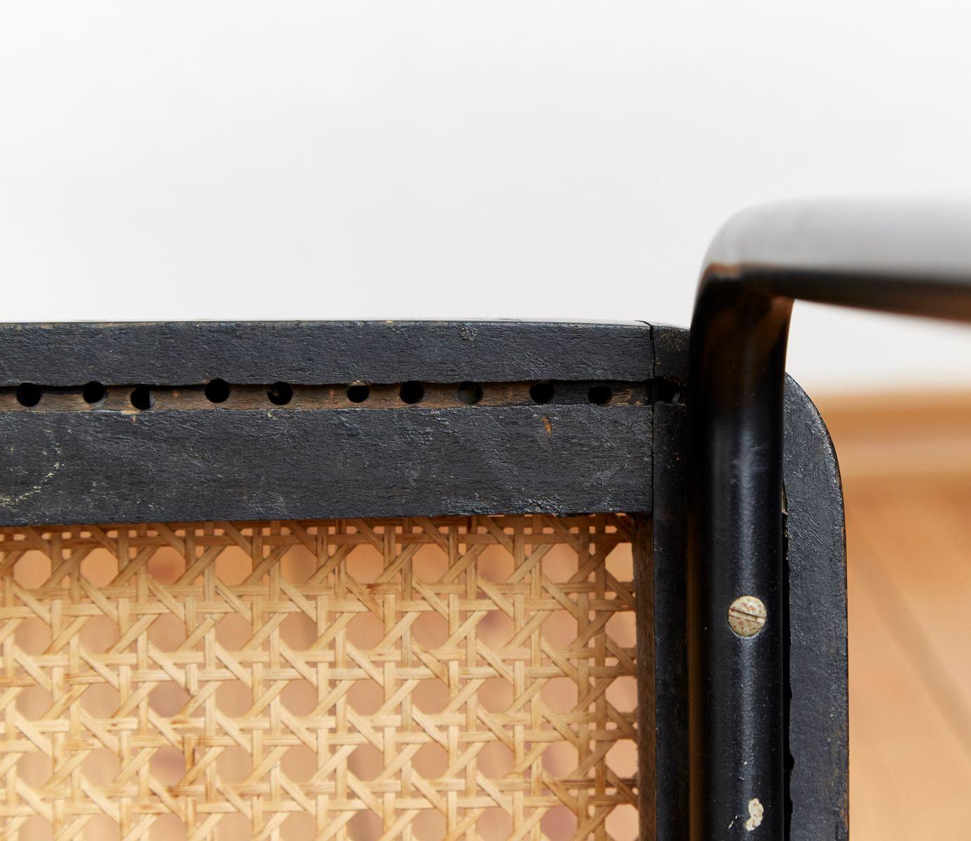 b56 hocker von marcel breuer f r thonet bei pamono kaufen. Black Bedroom Furniture Sets. Home Design Ideas