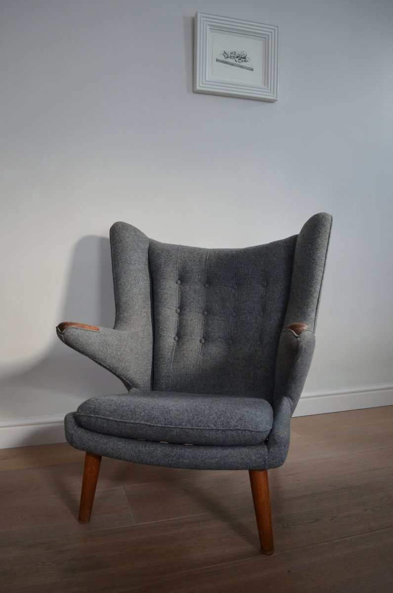 AP19 Papa Bear Chair by Hans Wegner for APStolen for sale at Pamono