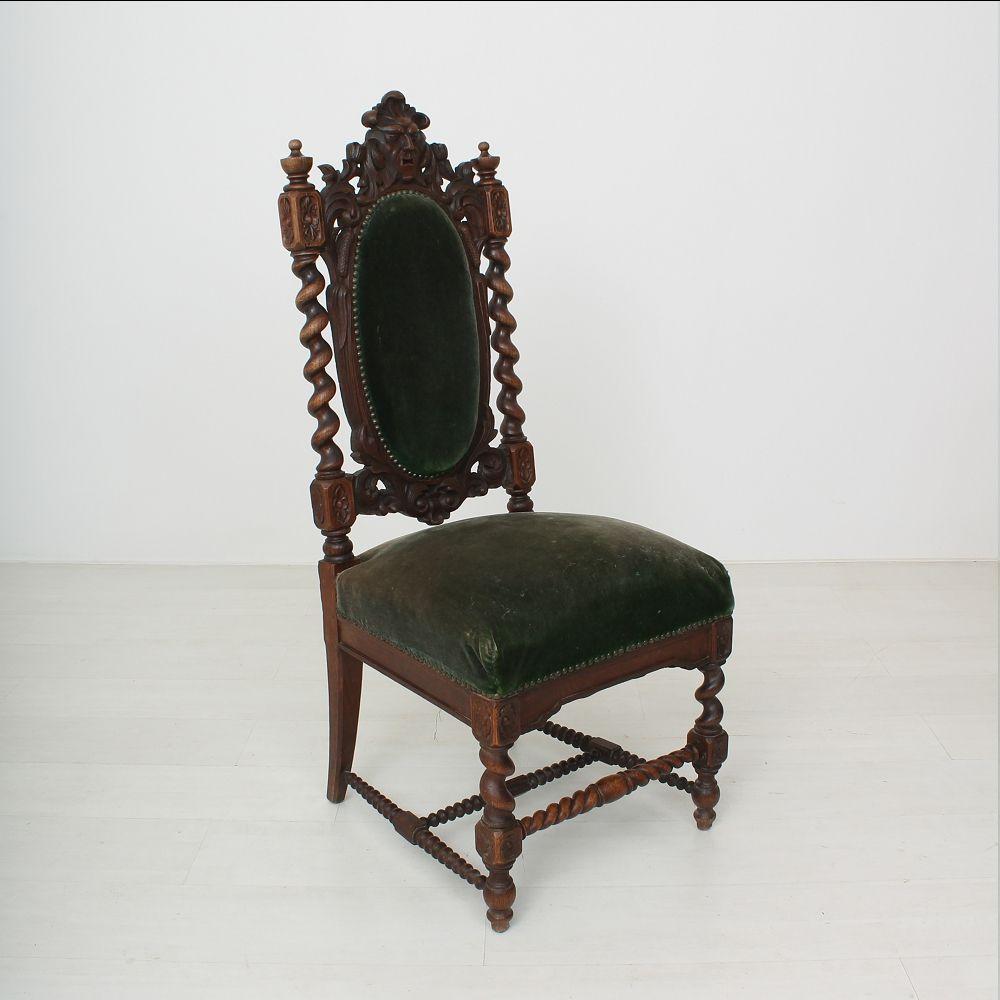 High back antique chairs - High Back Antique Chairs 40