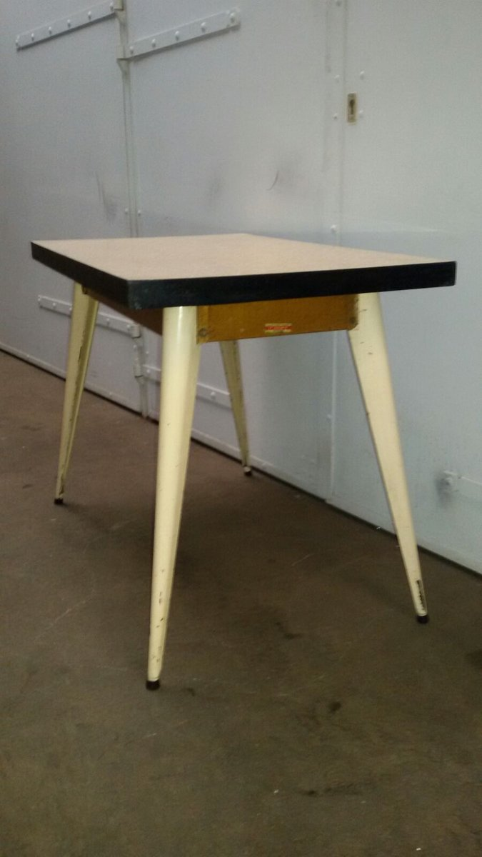 industrial table by xavier pauchard for tolix 1950 for sale at pamono