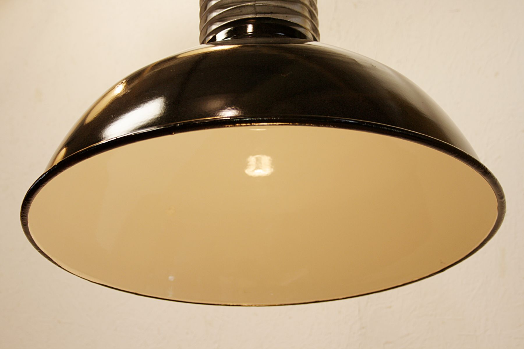 Vintage Industrial Pendant Light from Philips 1960s for sale at