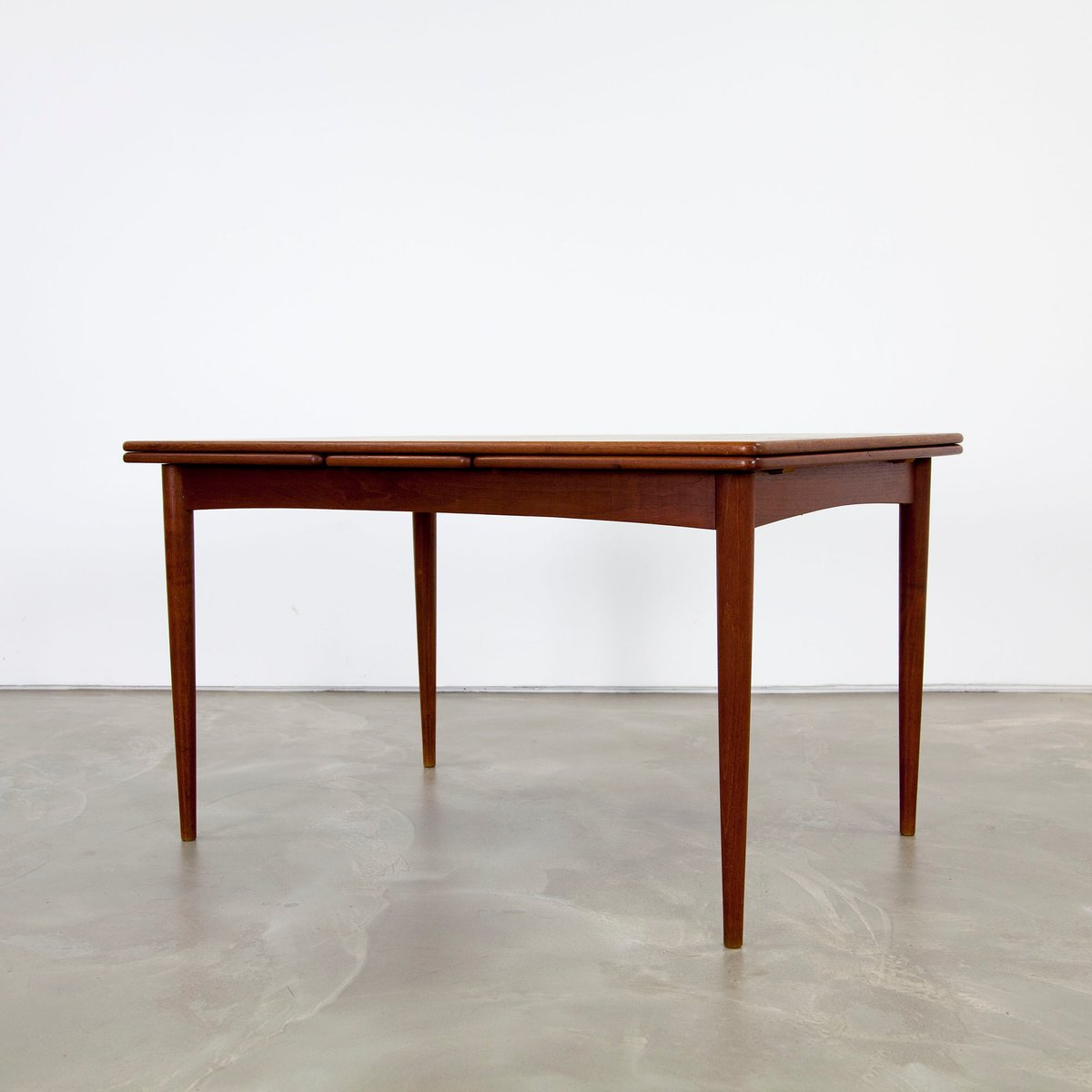 Dark Extendable Danish Teak Dining Table 1960s For Sale At Pamono