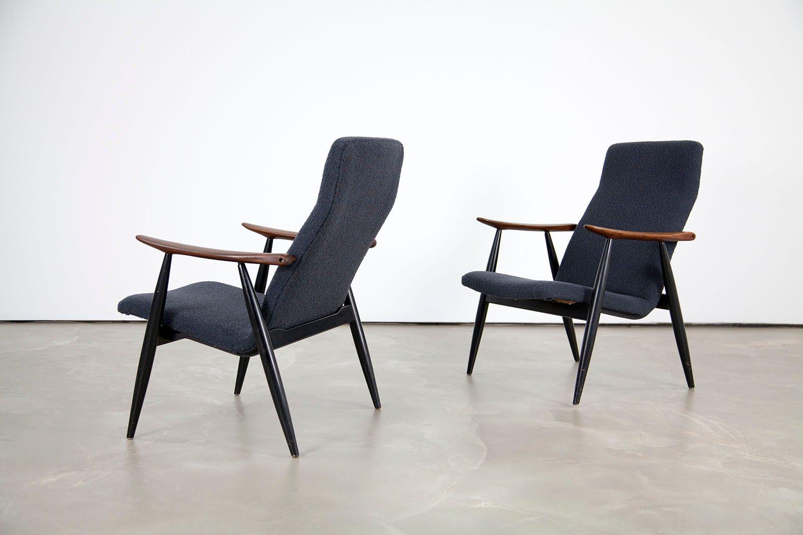 Vintage Scandinavian Teak Lounge Chair By Olli Borg For Asko