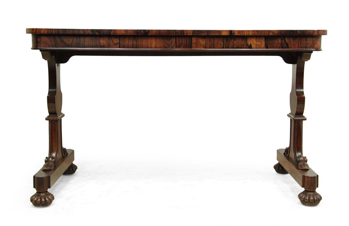 William IV Rosewood Library Table, 1835