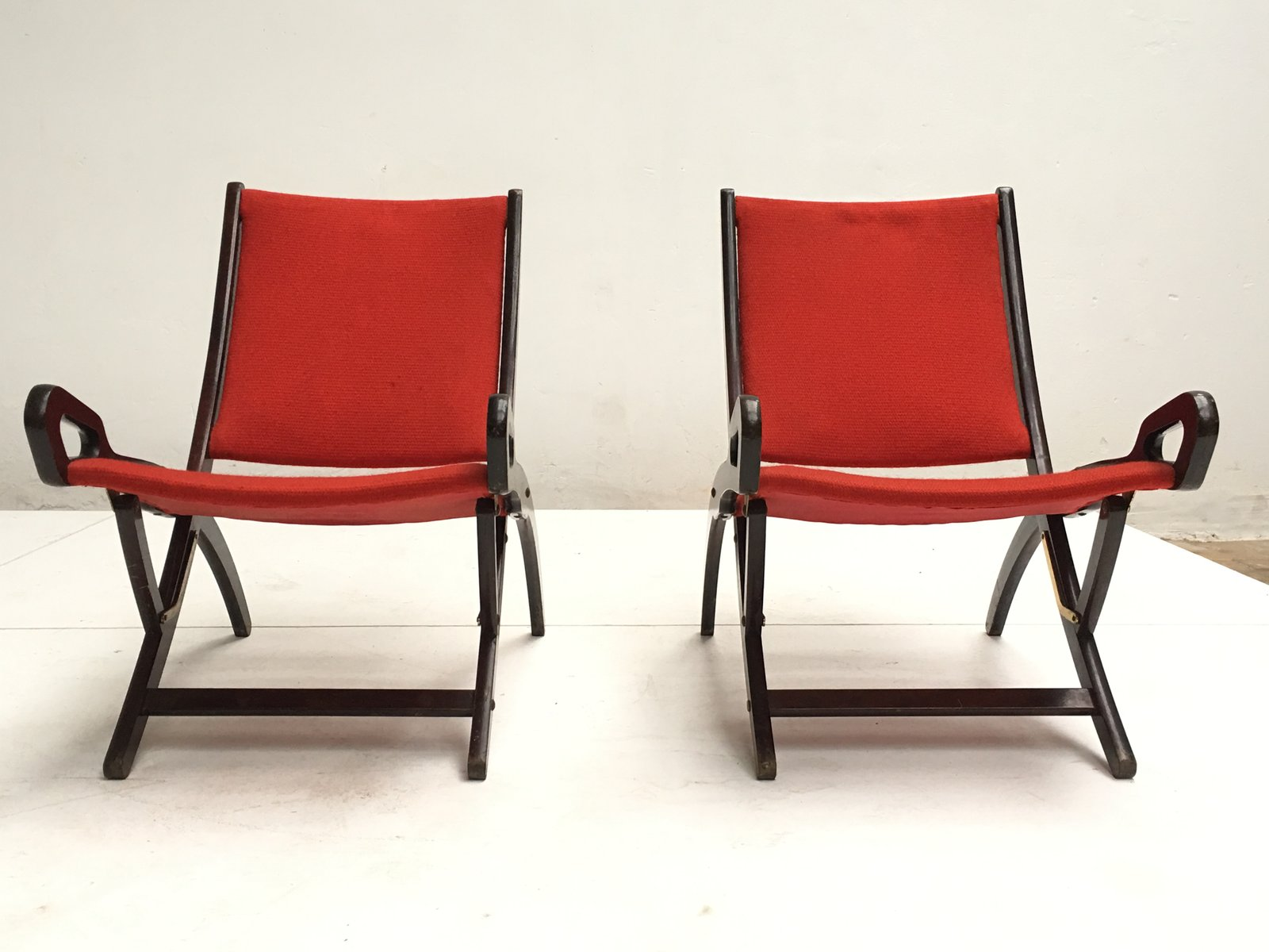 Ninfea Lounge Chairs by Gio Ponti for Fratelli Reguitti 1958 Set