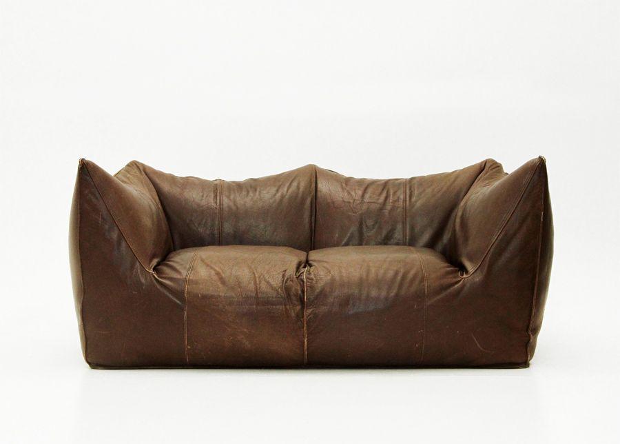 Le Bambole Leather Sofa By Mario Bellini For B B Italia 1970s For Sale At Pamono