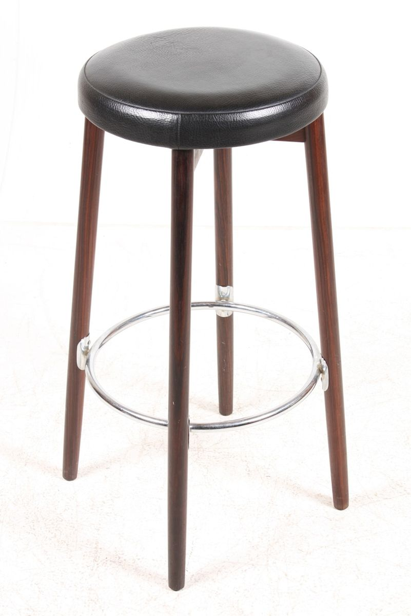 danish mid century bar stools 1960s set of 3 for sale at pamono. Black Bedroom Furniture Sets. Home Design Ideas