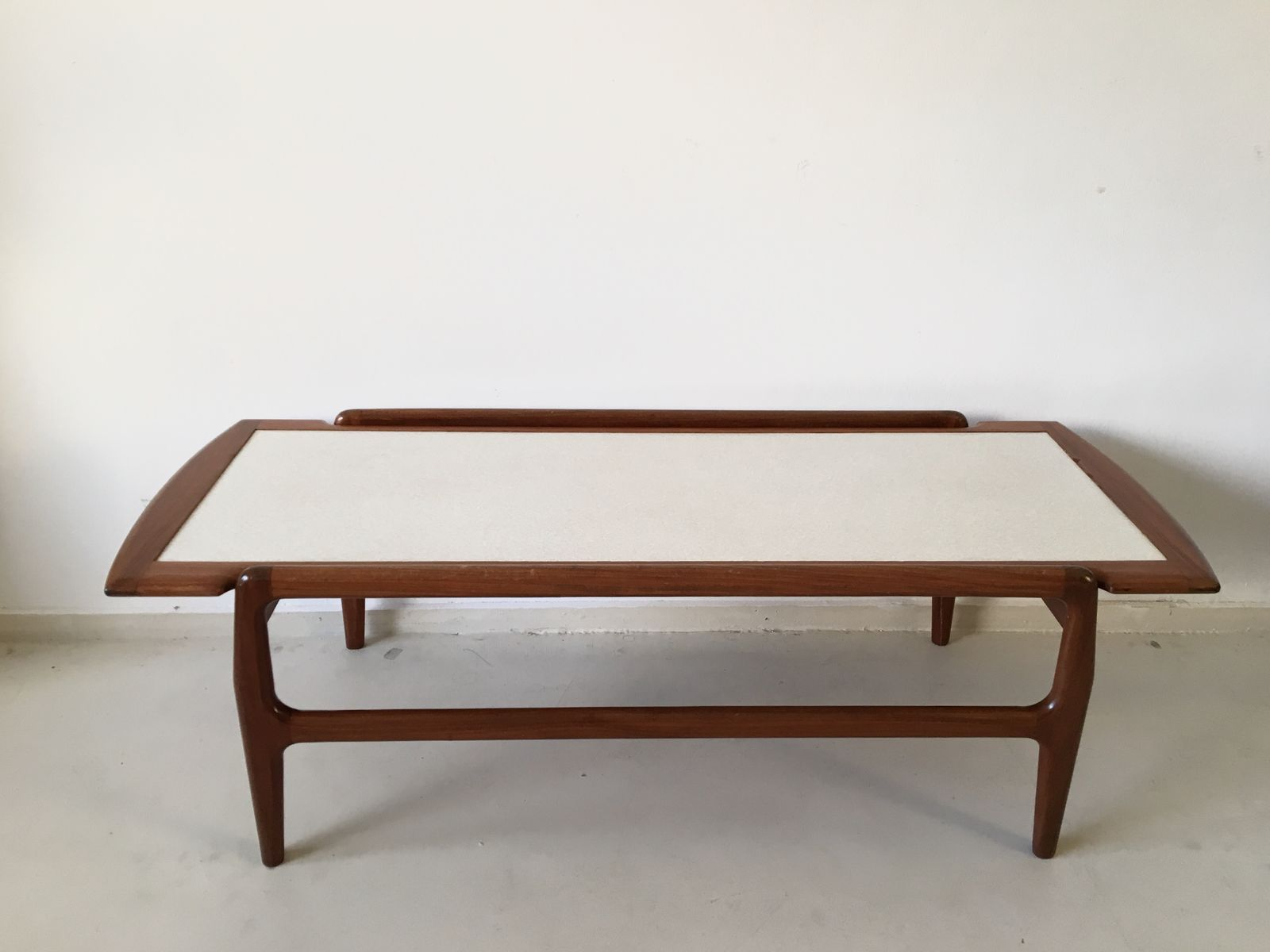 Reversible Danish Teak Coffee Table 1950s For Sale At Pamono