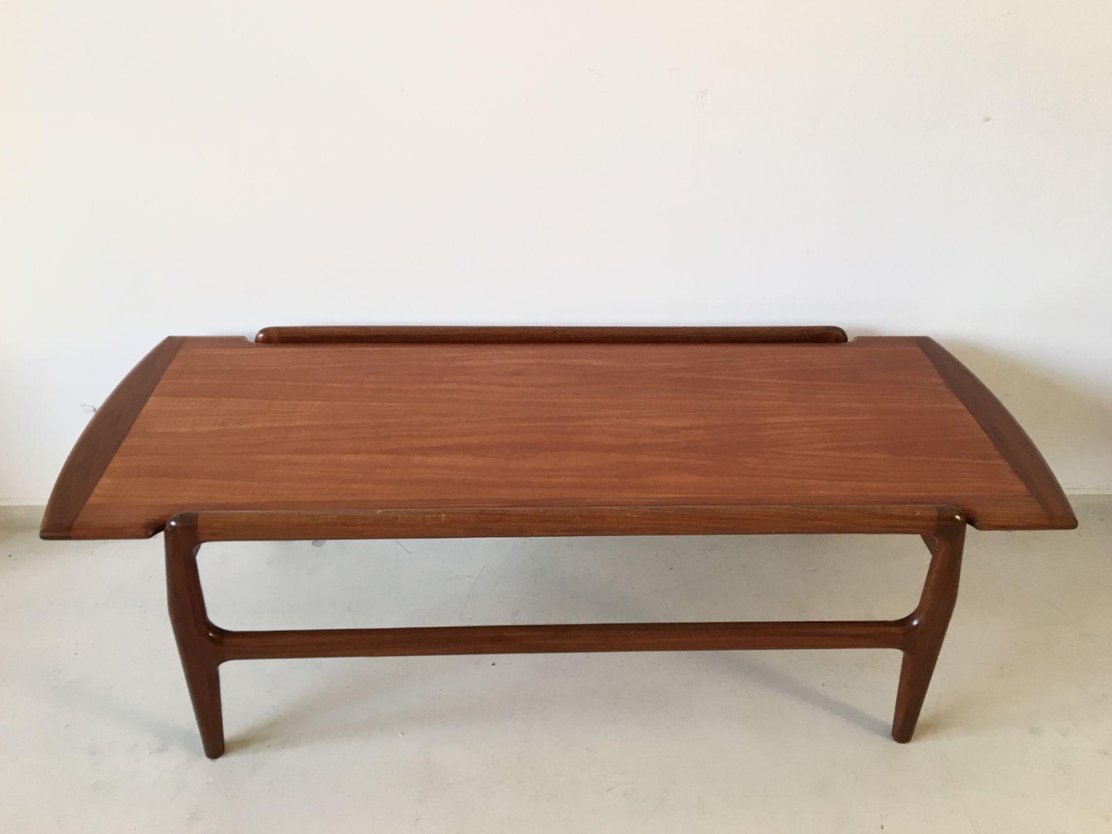 Reversible Danish Teak Coffee Table 1950s For Sale At Pamono